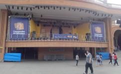 Mega Banner em lona com impressão digital para evento